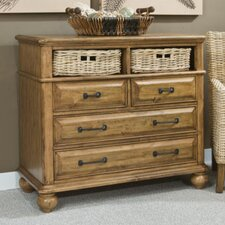 Coronado 4 Drawer Media Chest