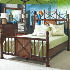 <strong>Panama Jack Outdoor</strong> Island Breeze Four Poster Bed