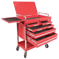 <strong>Power Station</strong> 5 Drawer Locking Service Cart