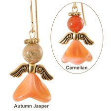 Angels of Calmness 14 Kt Goldfilled Earrings