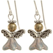 Remliel Angel Sterling Silver Earrings