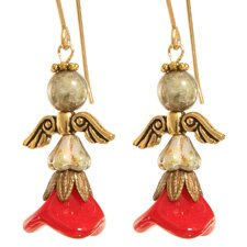 Yofiel Angel 14 Kt Goldfilled Earrings