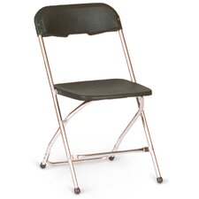 <strong>McCourt Manufacturing</strong> Chrome Series 5 Plastic Folding Chair