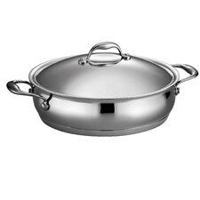 Domus 5-qt. Aluminum Oval Braiser with Lid