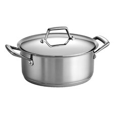 <strong>Tramontina Gourmet</strong> Tramontina Gourmet Prima 5 Qt Covered Dutch Oven with Tri-Ply Base