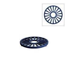 Tramontina Gourmet Enameled Cast Iron 7 in Round Trivet Gradated