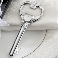 Love and Hearts ''Key To My Heart'' Victorian Style Bottle Opener