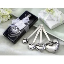 ''Love Beyond Measure'' Heart Measuring Spoons in Gift Box