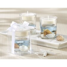 """Seashells"" Seashell Tea Light Holder"