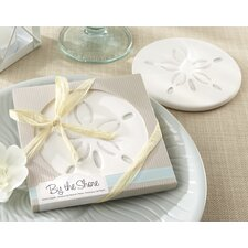 """By The Shore"" Sand Dollar Coaster (Set of 96)"