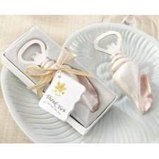 "<strong>Kate Aspen</strong> ""Shore Memories"" Sea Shell Bottle Opener with Thank You Tag"