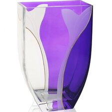 <strong>Womar Glass</strong> Hand Painted Glass Paix Series Vase