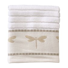 Dragonfly Jacquard Washcloth
