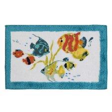 Rainbow Fish Multi Color Rug