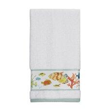 Rainbow Fish Print Hand Towel