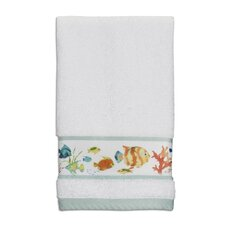 Rainbow Fish Print Fingertip Towel