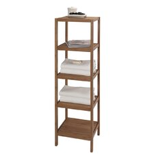 "14.5"" x 53.5"" 5 Shelf Bamboo Tower"