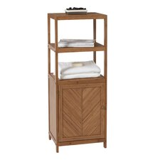 "14.5"" x 42"" 3 Shelf Linen Tower"