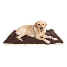 Machine Washable Rectangular Dog Cushion Pad