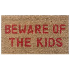 <strong>Home & More</strong> Beware of the Kids Doormat