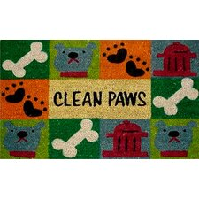 Clean Paws Doormat
