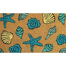 <strong>Home & More</strong> Seashells Doormat