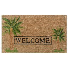 Palm Welcome Doormat