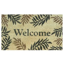 Fern Welcome Doormat