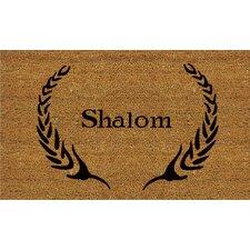 Shalom Doormat