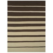 Brown Stripe Rug