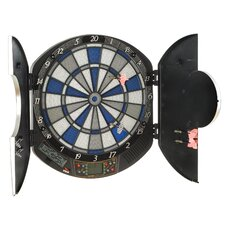 Raptor Electronic Dartboard with Case and Accessories