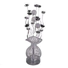 Aluminium Flower Floor Lamp