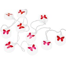 10 Light Butterflies String Light