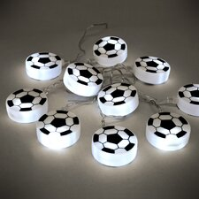 10 Light Football String Light