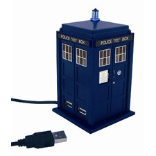 Doctor Who Tardis 4 Port USB Hub Station