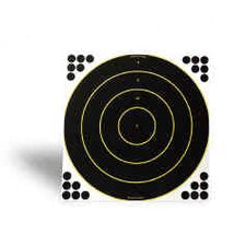 "Shoot-N-C 18"" Round Bull's Eye Target (12 Per Pack)"
