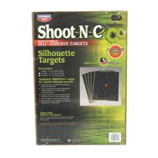 "Shoot-N-C 12"" x 18"" SO-5 Silhouette Oval Target (6 Per Pack)"