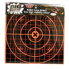"12"" Sight In Big Burst Target (25 Per Pack)"