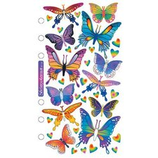 Foil Butterflies Sticker