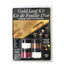 Mona Lisa Metal Leaf Starter Kit
