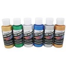 2 oz Pearl Airbrush Paint Set
