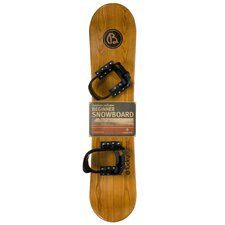 Kid's Heirloom Wooden Snowboard