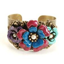 Camellia Cuff Bracelet