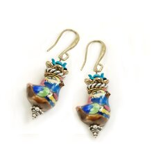 Mayan Birds Drop Earrings