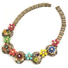 Mayan Garden Collar Necklace
