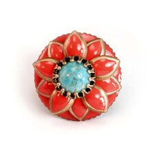 Starflower Turquoise Ring