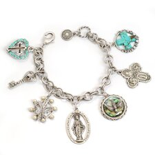 Amulets and Saints Charm Bracelet