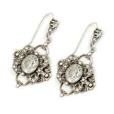<strong>Sweet Romance</strong> Laurelle Crystal Drop Earrings