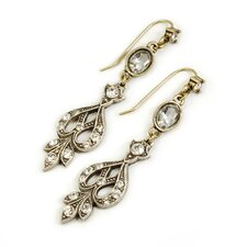 Evening Crystal Drop Earrings