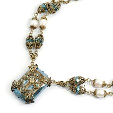 Chartes Filigree Cross Necklace